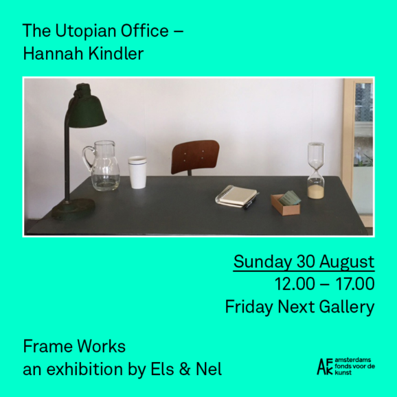 The Utopian Office – Hannah Kindler